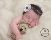 Mini Bear Plush Toy/ Photography Prop/ Stuffed Toy / Soft Toy/Amigurumi Toy-  MADE TO ORDER