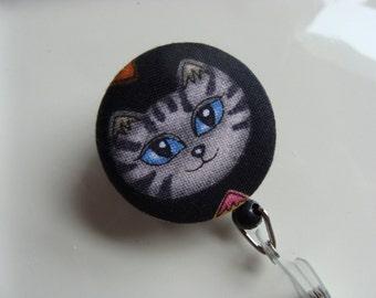 Retractable Badge Reel - Mr Blue Eyes