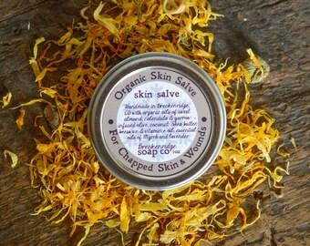 Organic Skin Salve (Lavender & Myrrh)