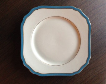 Royal York Vintage Porcelain Plate Mediterranean Pattern Discontinued