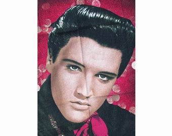 1970s or 80s ELVIS wall hanging