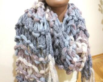 Knitting Shawl, Very Soft ...for women