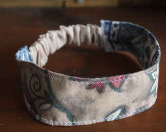 Eco reversible fabric headband