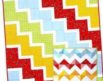 Ziggy Baby Quilt Pattern by Cluck Cluck Sew