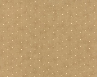 Crazy For Red Tan Ivory Dot by Minick & Simpson for Moda