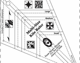 The Kite Ruler 8158 Michell Marketing
