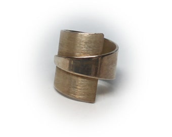 Sterling Silver Ladies Wrap Ring