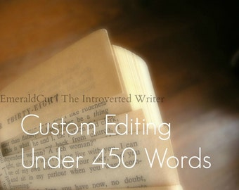 SALE Custom Editing of Your Writing - 150+ Words In-Depth Analysis / Writing Pointers Editing Proofreading Help, Constructive Feedback