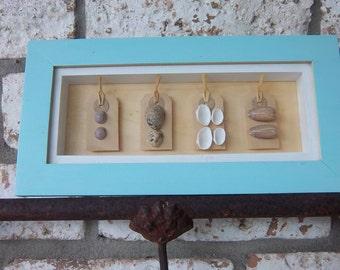 Seashell Shadow Box