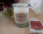 SALE - 12 Soy Vanlla/Apricot Container Candle