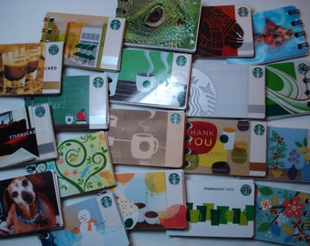 6 Pack Starbucks Notebooks, Mini Notebooks, Petsmart tiny journals