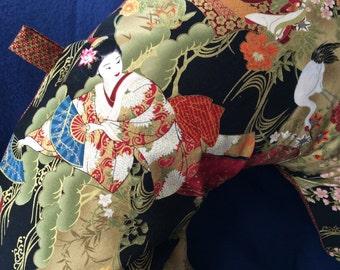Gorgeous Rich Asian Themed Fabric Boppy Nursing Pillow Cover