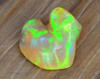 Freeform Ethiopian Opal Carving