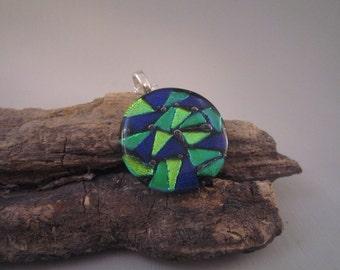 Colorful Mosiac Pendant