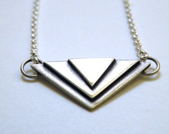 Sterling Necklace - Art Deco