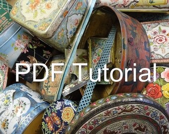 Soldering tin for beads, baubles and bangles tutorial instant PDF download