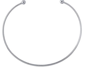 Sterling Silver 2.7mm Neck Ring                            CC-30059