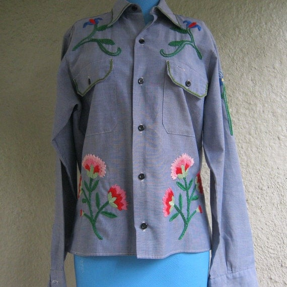Vintage Embroidered Shirts 112