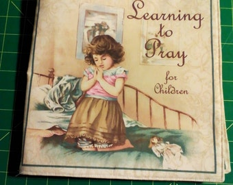 Cloth Book, Learning to Pray, Ready to Ship
