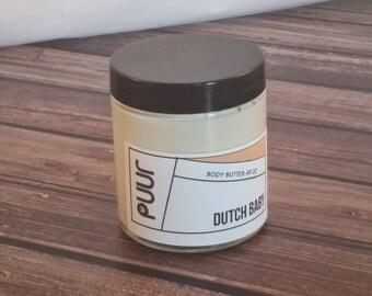 Dutch Baby Body Butter Moisturizing Shea Butter Lotion Vegan Paraben Free Body Cream Apple Pancake Scent
