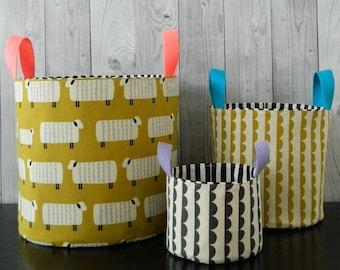 Nesting Buckets {PDF sewing pattern}