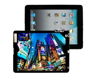 iPad 2/3/4 - iPad Mini - snap on plastic case - Times Square Modern