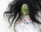 RESERVED Garden/Oz OOAK cloth Art Doll No.D2 RESERVED