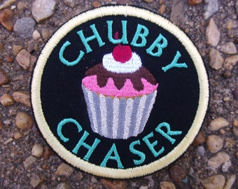 Chubby Chaser embroidered patch