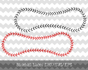 Baseball Lace Files .DXF/.SVG/.EPS Files for use with your Silhouette Studio Software
