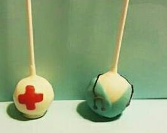 Medical cake pops Scrub cake pops 1 dz