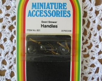 Doll House Miniature Door/Drawer Handles
