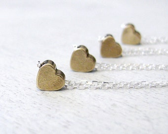 Minimal Necklace, Heart Jewelry, Best Friend Gift, Fiance Gift, Dainty Jewelry, Delicate Necklace, Everyday Necklace, Heart Necklace, Teen