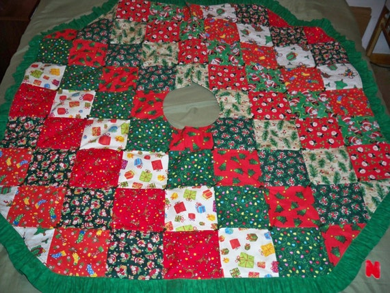Tree Skirt Quilted 103