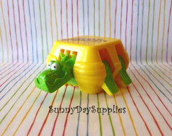 Vintage McDonalds Happy Meal Toy,  Mcdonalds Dinosaur,  McDonalds toys, Changeables,  Transformer, Dinosaur, Chicken McNuggets, Food Toy,