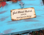 Custom Gift Card Keepsake Box Baby Shower or Baptism Baby Dedication Baby Memory Box
