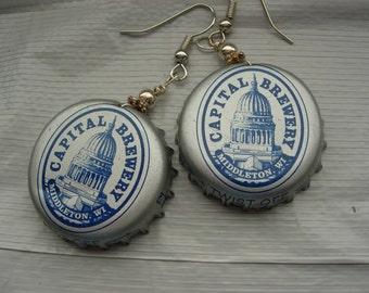 craft beer earrings wisconsin beer brewers