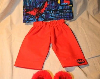 18 inch Doll Pajamas  Batman