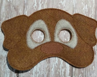 Dog puppy Mask Party Favor Dress Up