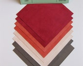Ultrasuede Fresh Fruits 5x5 Squares