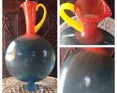 Reserved Beautiful Kosta Boda Kjell Engman, Swedish Art Glass Pitcher, Ewer, Bon Bon Jug, Carafe, Decanter