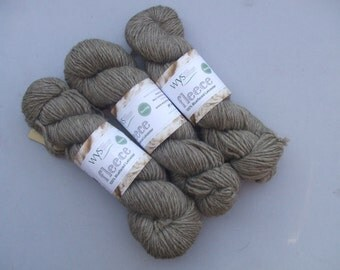 A-Roving We Will Go British Chunky BFL Wool. Natural Latte