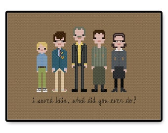 Rushmore - Cross Stitch PDF Pattern