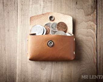Coin Purse, leather coin purse, change purse, leather change purse, coin wallet 060