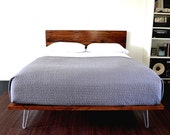 RESERVED FOR JESS R. Payment 2 Of 4 For Platform Bed And Headboard On Hairpin Legs Full Size