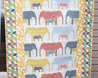 Baby Crib Bedding- Design Your Own Baby and Toddler Frame Style Quilt in Fabrics You Choose