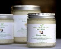 Organic Moisturizing Body Butter, Body Butter Jar, Whipped Shea Butter, Cocoa Body Butter, Organic Shea Butter
