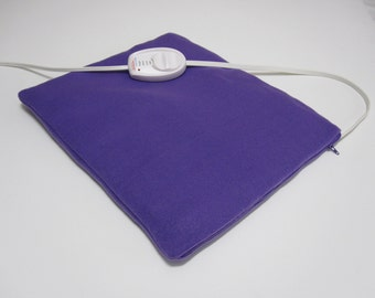 Luxurious Heating Pad COVER* -  Violet Purple Fleece