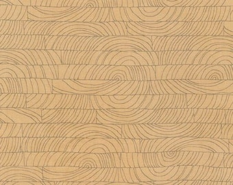 Doe Breeze in Natural, Carolyn Friedlander, Robert Kaufman Fabrics, 100% Cotton Fabric, AFR-15029-14 Natural
