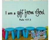 Sunday School Wall Art, gift from God