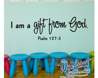 Sunday School Wall Art, Gift From God Part 47